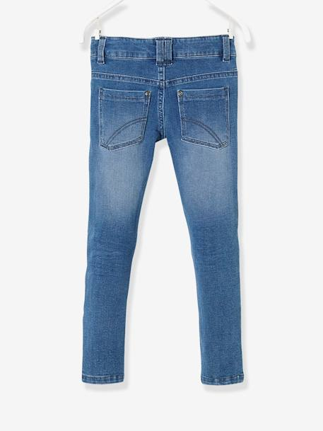 Boys' Ultra Stretch Slim Cut Jeans BLUE DARK SOLID+BLUE DARK WASCHED