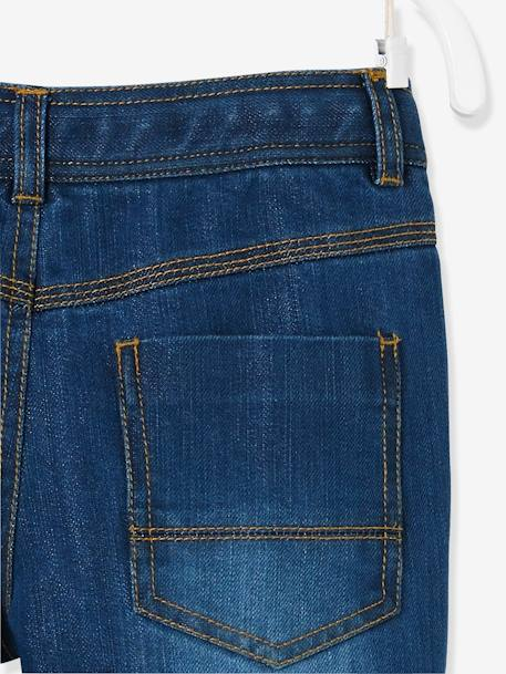 Indestructible Straight Leg Jeans for Boys BLUE DARK SOLID+BLUE DARK WASCHED