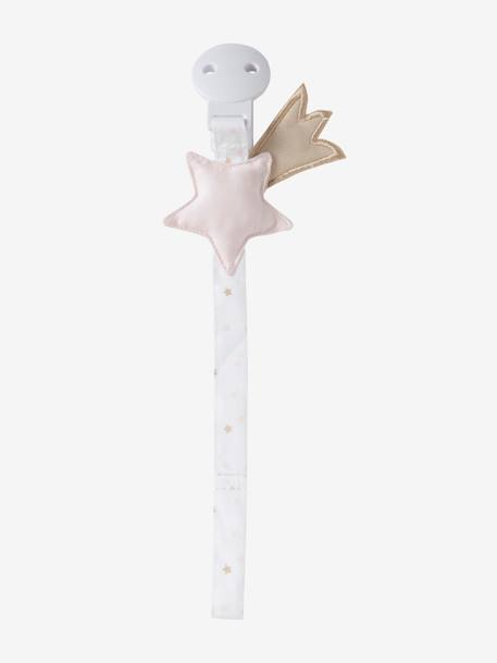 Dummy Holder, Shooting Star PINK LIGHT ALL OVER PRINTED