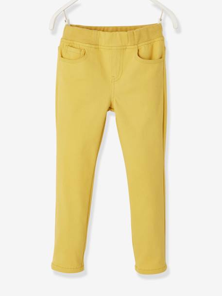 Printed Top + Slim Leg Trousers for Boys YELLOW DARK SOLID WITH DESIGN