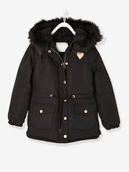 Girls-Coats & Jackets-Parka with Sherpa Lining for Girls