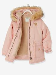 Girls-Parka with Sherpa Lining for Girls
