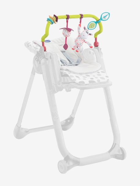 Toy Bar for CHICCO Polly Progres5 High Chair GREEN LIGHT SOLID WITH DESIGN
