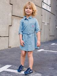Girls-Light Denim Dress for Girls