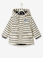 Baby-Outerwear-Coats-Striped Raincoat for Baby Boys