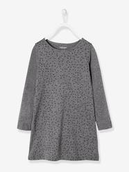 Girls-Dresses-Girls' Dress in Jersey Knit
