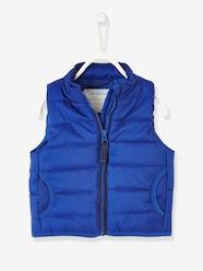 Baby-Outerwear-Coats-Sleeveless Padded Jacket for Baby Boys