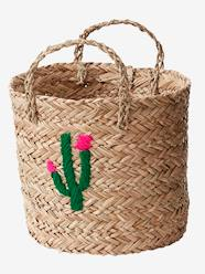 Storage & Decoration-Storage-Storage Boxes & Baskets-Wicker Basket, Cactus