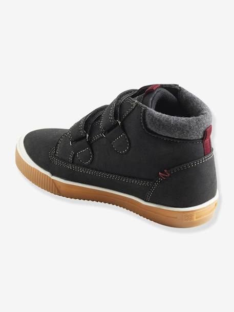 Boots with Touch 'n' Close Fastening for Boys BLACK DARK SOLID+BROWN LIGHT SOLID+GREY MEDIUM SOLID