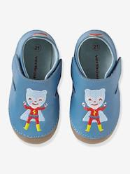 Shoes-Baby Footwear-Slippers-Soft Leather Shoes with Touch 'n' Close Fastenings for Babies
