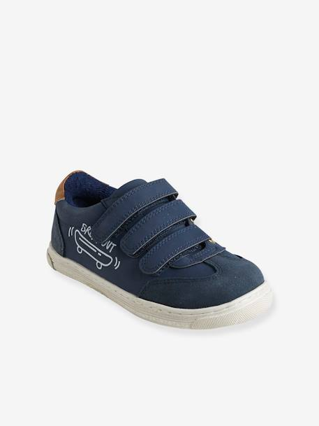Unisex Touch 'N' Close Trainers BLUE MEDIUM SOLID+WHITE LIGHT SOLID