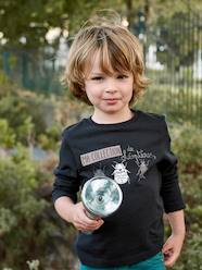 Boys-Top with Glow-in-the-Dark Print for Boys