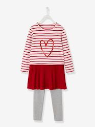 Girls-Dresses-Dress + Leggings Outfit for Girls
