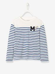 Boys-Striped Long-Sleeved T-Shirt for Boys