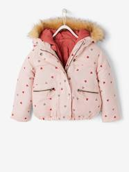 Girls-Coats & Jackets-3-in-1 Parka with Fleece Lining, for Girls