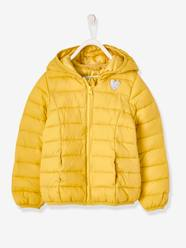 Girls-Light Padded Jacket with Hood, for Girls