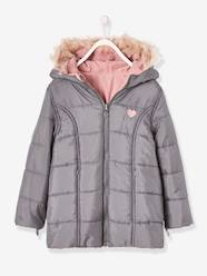 Girls-Reversible Parka for Girls