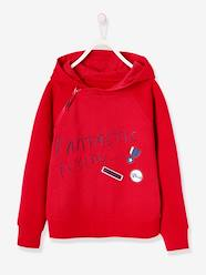 Boys-Cardigans, Jumpers & Sweatshirts-Sweatshirts & Hoodies-Hooded Sweatshirt in Brushed Fleece for Boys