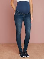 Maternity-Maternity Slim Stretch Jeans - Inside Leg 30""