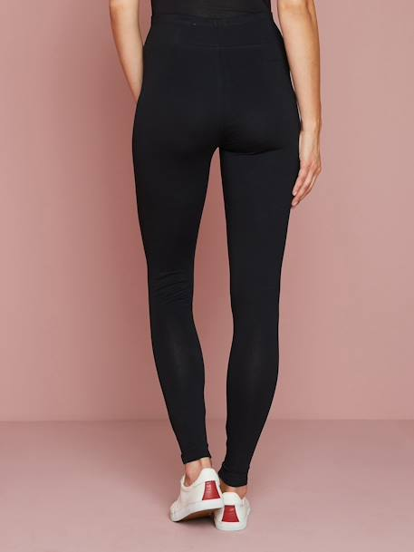 Long Maternity Leggings Black