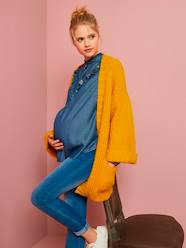 Maternity-Thick Knit Cardigan for Maternity and Nursing