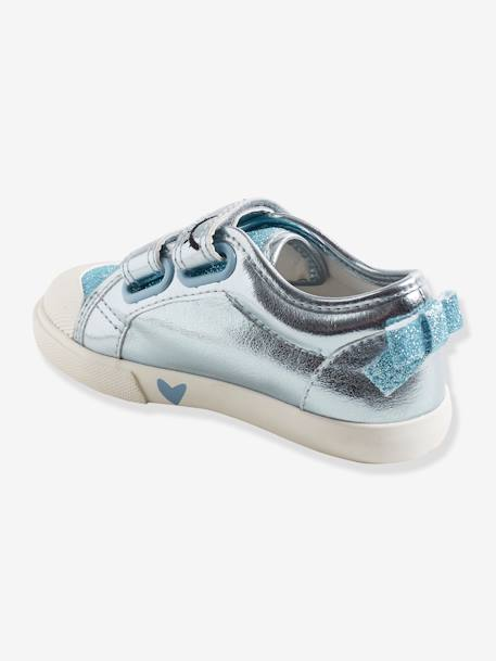 Girls'  Touch 'n' Close Trainers, Autonomy Collection BLUE LIGHT METALLIZED+PINK LIGHT METALLIZED