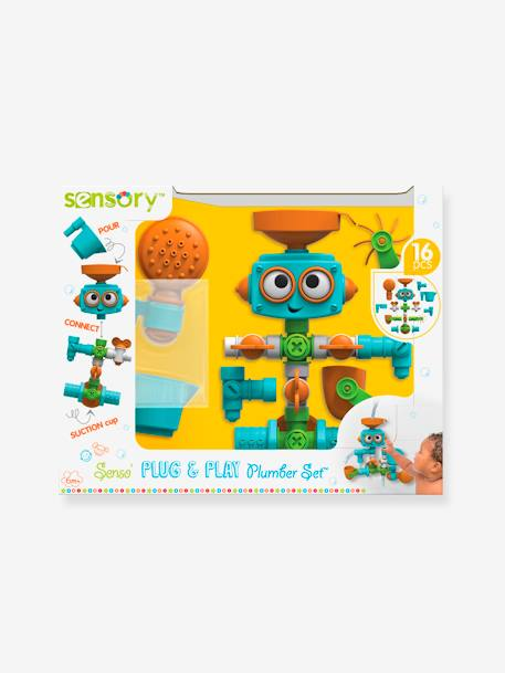 Bath-time Robot with Several Activities, by BLUE BOX BLUE LIGHT TWO COLOR/MULTICOL