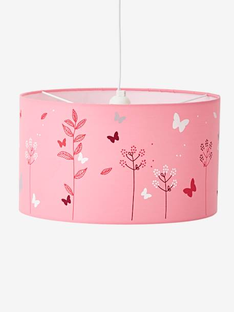 Ceiling Lampshade, Butterfly PINK MEDIUM SOLID WITH DESIG