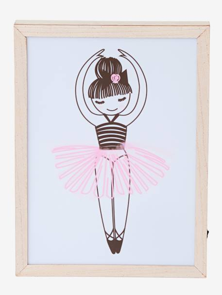 Light-Up Box, Ballerina WHITE LIGHT SOLID WITH DESIGN