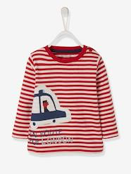 Baby-T-shirts & Roll Neck T-Shirts-T-Shirts-Striped T-Shirt for Baby Boys