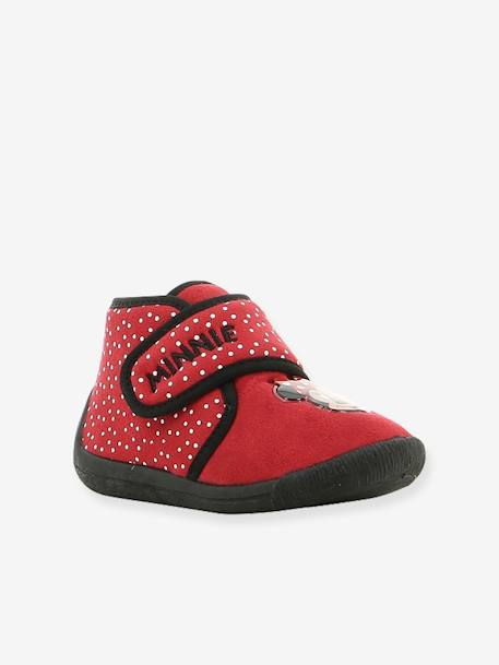 Minnie® Shoes with Touch 'n' Close Fastening for Babies RED MEDIUM SOLID WITH DESIG