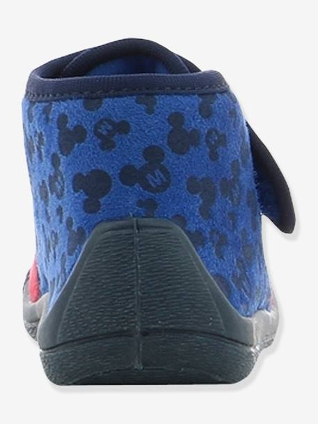 Mickey® Shoes with Touch 'n' Close Fastening for Boys BLUE MEDIUM SOLID WITH DESIGN