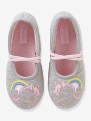 Shoes-Girls Footwear-Fabric Ballerina Shoes for Girls