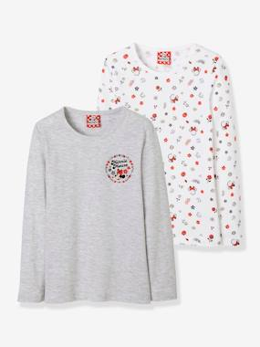 Click to view product details and reviews for Pack Of 2 Minnie® Tops White Medium Solid.
