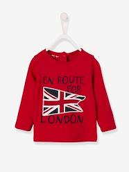 Baby-T-shirts & Roll Neck T-Shirts-T-Shirts-Top with Motif, for Baby Boys