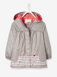 Girls-Girls' Parka with Polar Fleece Lining