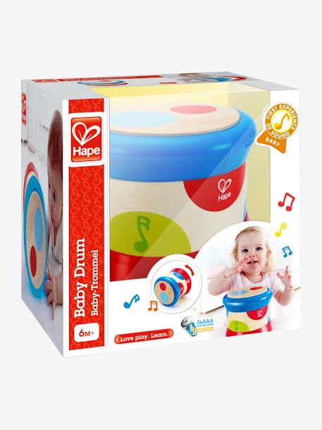 Baby Drum, by HAPE RED BRIGHT 2 COLOR/MULTICOL