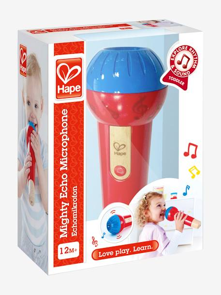 Mighty Echo Microphone, by HAPE RED BRIGHT 2 COLOR/MULTICOL