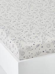 Furniture & Bedding-Child's Bedding-Fitted Sheet for Children, Planets Theme