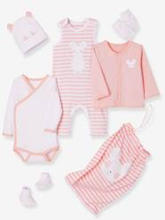 Baby-6-Piece Set with Large Motif for Newborns