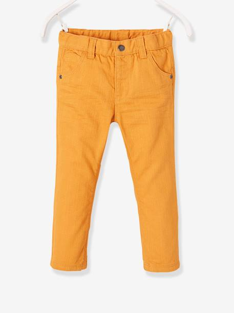 Baby Boys' Straight-Cut Trousers GREEN DARK SOLID+GREY DARK SOLID+ORANGE MEDIUM SOLID+RED BRIGHT SOLID