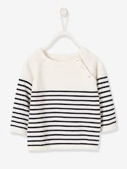 Baby-Baby Boys' Striped Jumper