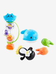 Toys-Bath Toys-Set of Plastic Bath Toys