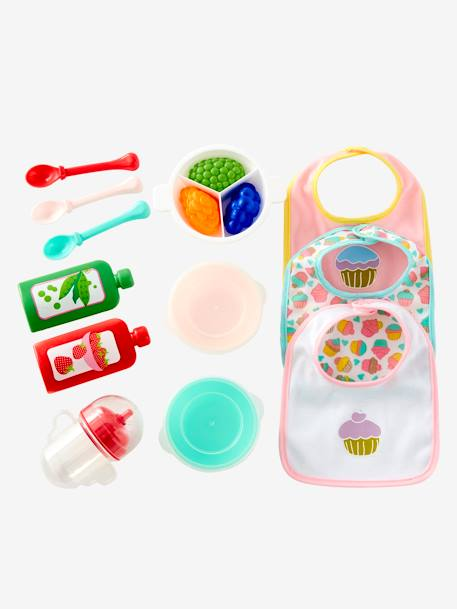 Mealtime Set for Doll PINK LIGHT 2 COLOR/MULTICOL R