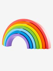 Toys-Baby's First Toys-Wooden Rainbow-Shaped Puzzle
