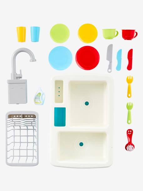 Magic Sink + Tableware BLUE LIGHT TWO COLOR/MULTICOL