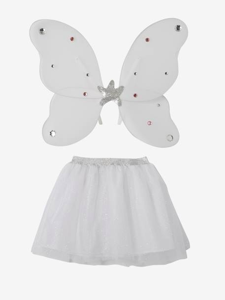 Fairy Costume WHITE LIGHT TWO COLOR/MULTICOL