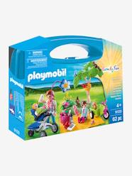 Toys-Playsets-9103 Family Picnic Carry Case by Playmobil