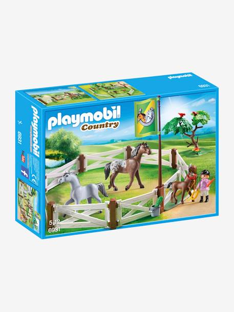 6931 Horse Paddock by Playmobil WHITE LIGHT SOLID WITH DESIGN