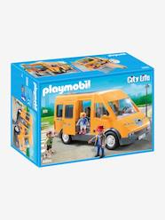 Toys-Playsets-6866 School Bus by Playmobil